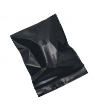 100Pcs Black Opaque Zip Lock Storage Packaging Bags Self Seal Zipper Packing Pouches Resealable Ziplock Sundries Package Bags