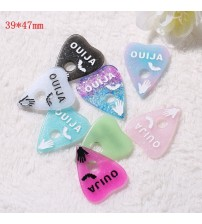 10pcs 28-47mm Mixed  Ouija board planchette Flatback resin cabochon  Gothic Alternative Jewelry parts Game board freeshipping