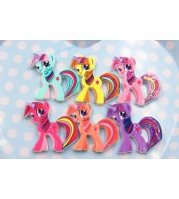10pcs/lot   flat back resin pony DIY resin cabochons accessories about30mm