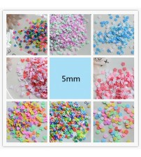 100g/Lot DIY Cute Hot Selling Clay Sprinkles Colorful Heart Five Star Mickey Snow Flower For Craft Making Phone Shell Nail Decor