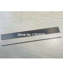 10 Pcs 300mm x 2mm Round Stainless Steel Straight Rod Bar for RC Toy Car