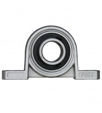 KP004 20mm Bore Diameter Zinc Alloy Pillow Block Mounted Housing Unit With Insert Bearing