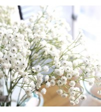 Artificial Flowers False Gypsophila Wedding Decoration Photo Props Flower Heads Branch fleur artificielle sztuczne kwiaty