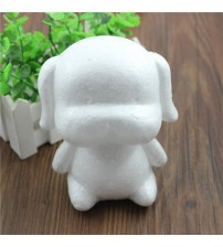 1 pcs Modelling Polystyrene Styrofoam Foam dog White Craft Balls For DIY Christmas Party Decoration Supplies Gifts