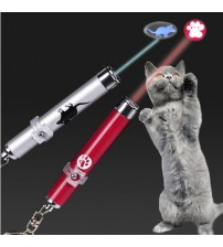 1Pc Funny Pet LED Laser Toy Cat Laser Toy For Cats Laser Cat Pointer Pen Interactive Toy With Bright Animation Mouse Shadow