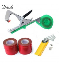 Tying Machine 12tapes Tapetool Tapener Garden Tool Plant Tying Machine Branch Hand Packing Vegetable Stem Strapping 12tapes set