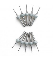 10pcs Hot Sale Portable Useful 0.8mm 10pcs/lot Carbide Micro Drill Bits CNC PCB Drill Bit Set