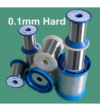0.1mm 304 Stainless Steel Hot Rolled Cold Rolled Wire Bright Soft Hard 100 meters