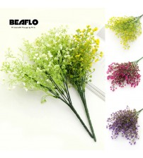 1 Bouquet DIY Artificial baby's breath Flower Gypsophila Fake Silicone plant for Wedding Home Party Decorations