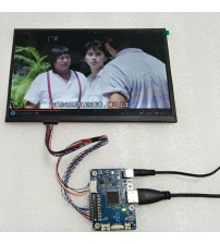 10.1 Inch LCD Phone Computer Second Display LVDS 1280X800 IPS TFT RGB Screen DC12V 60HZ HD DIY Monitor HDMI Portable Display