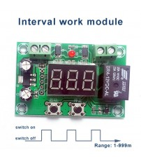 1-999 minutes interval work time Module interval work timer intermittent output switch