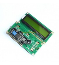 ( Green screen ) For  IIC/I2C 1602 LCD Module Yellow Green provides library files