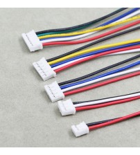 Mini Micro PH2.0 JST 2.0mm Pitch 2Pin 3Pin 4Pin 5Pin 6Pin Connector with 1007 26AWG Electronic Wire Cable