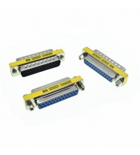 DB25 D-Sub 25pin Connectors Mini Gender Changer Adapter RS232 Serial Connector Male To Male Female To Female Female To Male
