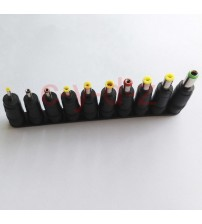 1 lot High-quality new  DC Power Jack 5.5mm x 2.1mm Female To 6.0mm 4.8mm 4.0mm 3.5mm 3.0mm 2.5mm 1.7mm 1.1mm 0.7mm Male Plug