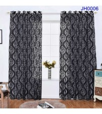100 x 200CM Circle Bubble Window Panel Curtain Living Room Jacquard Door Fabric Curtain Home Decor TB Sale