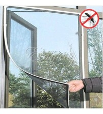Fashion Hands-free Magic Window Screen Door Curtain Anti-Mosquito Fly Bug Insect