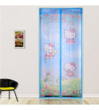 New Summer Anti-mosquito Mesh Magnet Mosquito Net Automatically Soft Yarn Door  Window Screen Tulle
