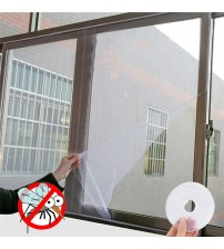 New 1.5*1.3M DIY window screen Summer Anti-Mosquito Window Screen mosquito net Polyester gauze screens