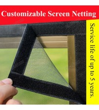 1 Meter 20 Mesh Nano Fly Mosquito Screen Net Mesh for Door Window, Protect Baby & Family from Insect and Bug