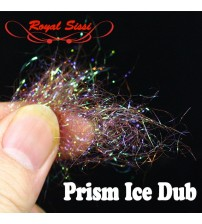 10 optional Colors Fly Tying prism ICE DUB sparkle crystal Living Fiber pearlescent ice dubbing nymph body&thorax Tying Material