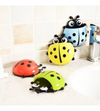 1Pc Toothbrush Holder for Bathroom Accessories Cartoon Wall Suction Sucker Toothbrush Suction Cup Holder Stand Hook