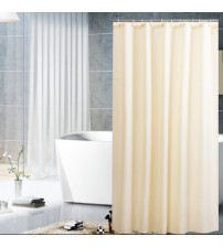 Shower Curtain Waterproof Mildew Proof Black Shower Curtains Home Bathroom Decoration Solid Color Shower Curtain D40