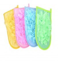 1pcs Exfoliating Bath Gloves Shower Body Massage Thickened Double-sided Sponge Bath Brushes Gloves Bathroom Accessories