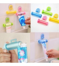 1 PCS Creative Rolling Squeezer Toothpaste Dispenser Tube Partner Sucker Hanging Holde Distributeur Dentifrice