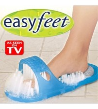 1 PCS Easy Feet Foot Cleaner Scrubber Washer Slipper Foot Health Care Bathroom Stone Massager Slipper