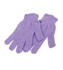 2pcs  Bath Body Shower Exfoliating Gloves (Random Color)