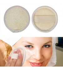 1 piece Facial Washer Sponge Natural Loofah Plant Fiber Soft Exfoliating Soap Shower Gel Foams Makeup Face Cleansing Brush