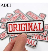 10pcs/lot Diy Clothes Motif Badge Embroidered Iron On ORIGINAL Stickers Jeans Backpack Patches Garments Socks Sewing Applique