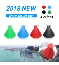 Ueful Car Windhield now Removal Magic Outdoor Ice hovel Cone haped Funnel now Remover Tool crape Car Tool Ice craper