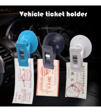 1 Pair Car Interior Window Mount Black uction Cap Clip Platic ucker Removable Holder For unhade Curtain Towel Ticket Black