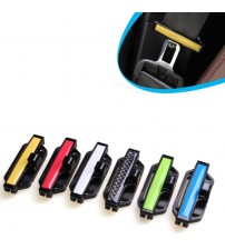 1 Pair Car Faten Belt afety Belt Fatening Clip Car ecurity Band Buckle eat Belt Fixation Clip High Quality