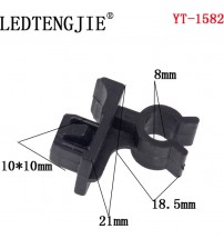 Free hipping Auto Fatener YT-1582 10PC Hole Car Rivet Hood Bonnet Prop Rod Clip upport Clamp Holder Panel Fender Bumper