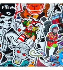 100 Car tyling JDM decal ticker for Graffiti Car Cover kateboard nowboard Motorcycle Bike Laptop ticker Bomb Acceorie