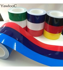 1 pc/lot 1M* 15CM M-Colored Germany Italy French Flag triped Car Hood Vinyl ticker Body Decal For BMW M3 M5 M6 E46 E92 erie