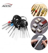 11*Terminal Removal Tool Car Electrical Wiring Crimp Connector Pin Extractor Kit