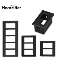 1/2/3/4/5 Way Car Auto Boat Rocker witch Clip Panel  Holder Houing Auto witche Car-tyling