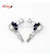 1 Pair M10 Left & Right Hand Thread teering Tie Rod End Fit For Yamaha Banhee WARRIOR YFB YFM Raptor 250 350 400  ATV Part