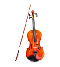 1/4 Size Violin Fiddle Basswood Steel String Arbor Bow for 6-8 Beginners P2X1