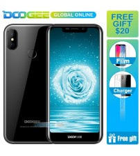 Fast shipping  DOOGEE X70 Big batter 4000mAh Smartphone MTK6580A 2GB 16GB Android 8.1 5.5 Inch 19:9 Mobile Phone