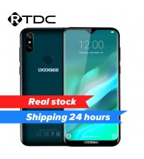 "DOOGEE Y8 3GB RAM 16GB ROM Android 9.0 Smartphone 6.1""FHD 19:9 Display 3400mAh MTK6739 Quad Core 4G LTE Mobile Waterdrop Screen"