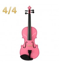 Acoustic Violin Fiddle Pink