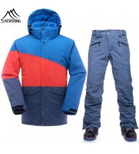 Waterproof Ski Suit Men