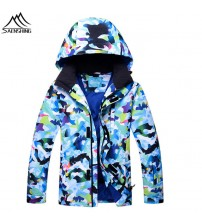 Camouflage Snow Jacket Men