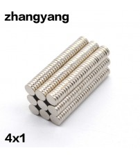 100 pcs 4mm x 1mm Magnets