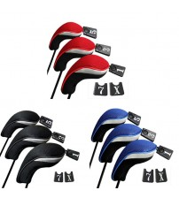 3Pcs/Set Club Heads Cover